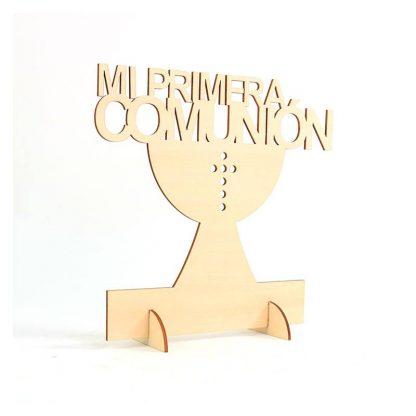 Cartel mi primera comunión