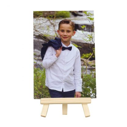 Mini caballete de madera 11093
